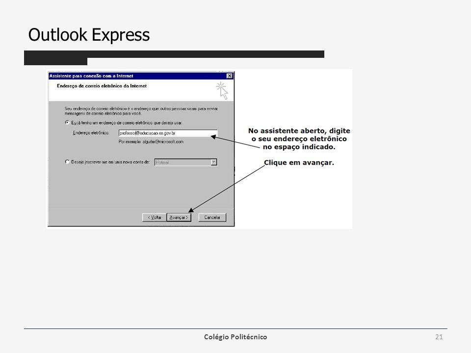 Outlook Express Colégio Politécnico21