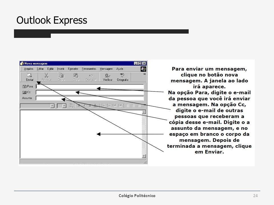 Outlook Express Colégio Politécnico24