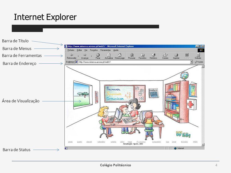 Internet Explorer Os plug-ins são programas que expandem a capacidade do Browser em recursos específicos - permitindo, por exemplo, que você toque arquivos de som ou veja filmes em vídeo dentro de uma Home Page.