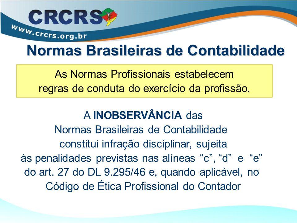 As Normas Profissionais estabelecem regras de conduta do exercício da profissão.