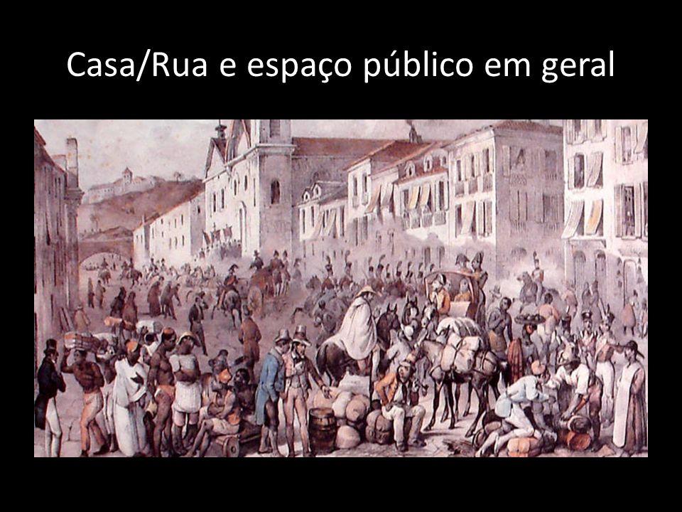 Casa/Rua e espaço público em geral