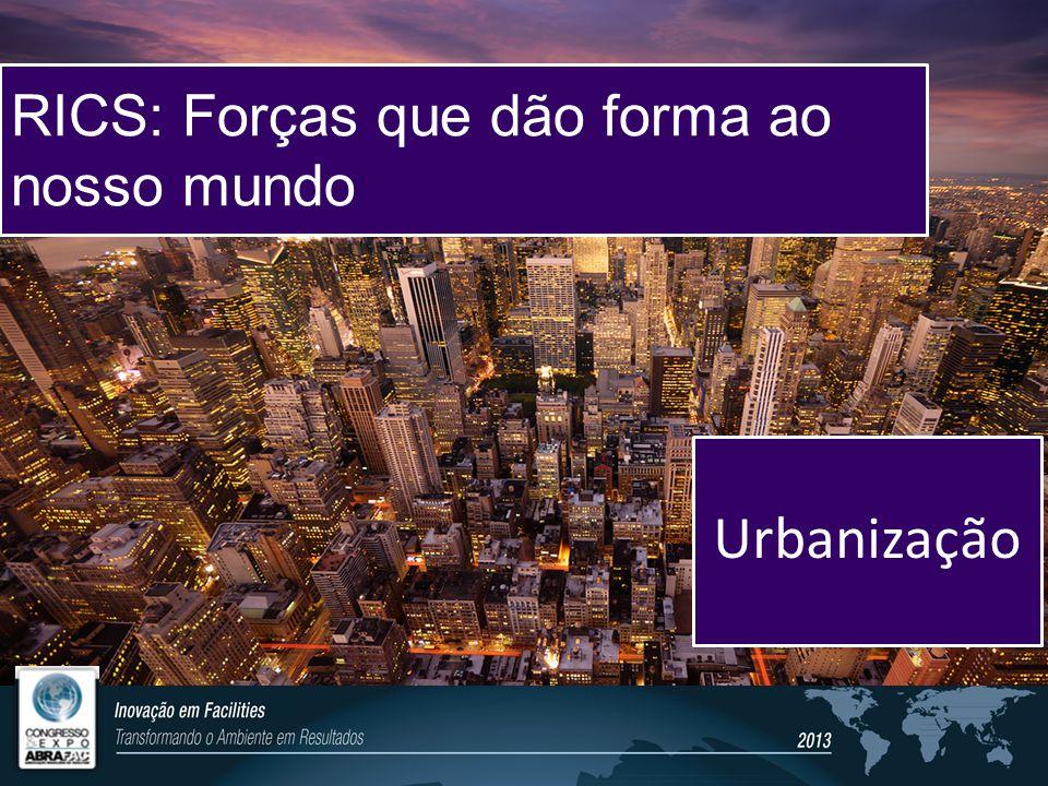 Our world. Transformed. Urbanização RICS: Forças que dão forma ao nosso mundo
