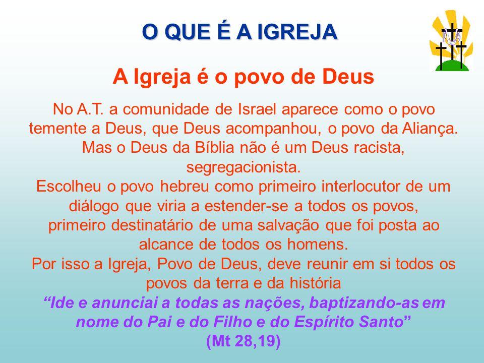 A Igreja é o povo de Deus No A.T.