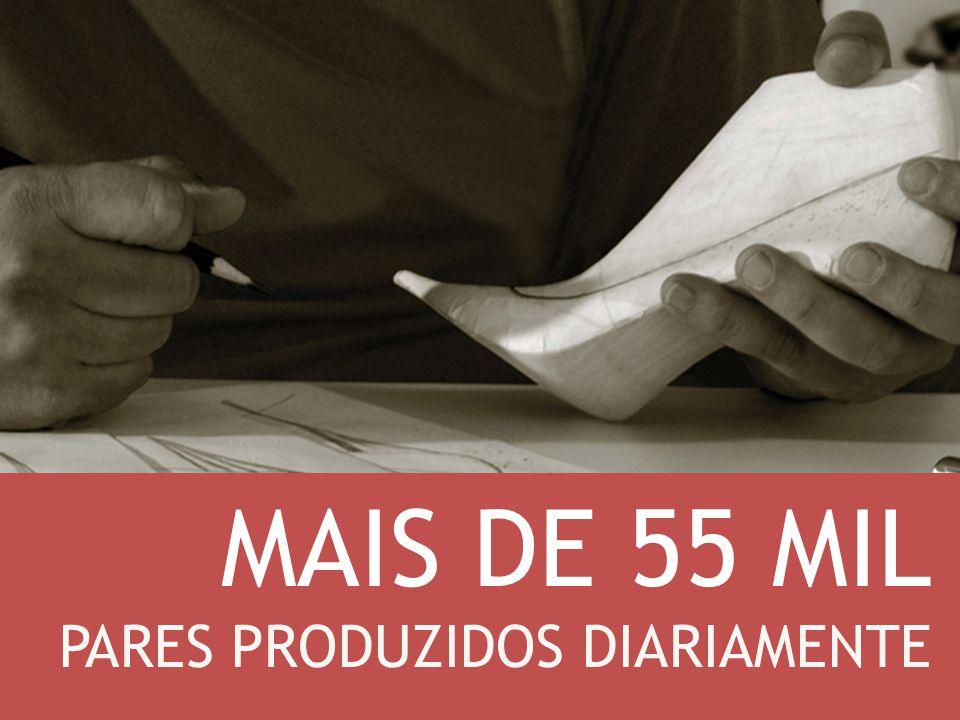 MAIS DE 55 MIL PARES PRODUZIDOS DIARIAMENTE