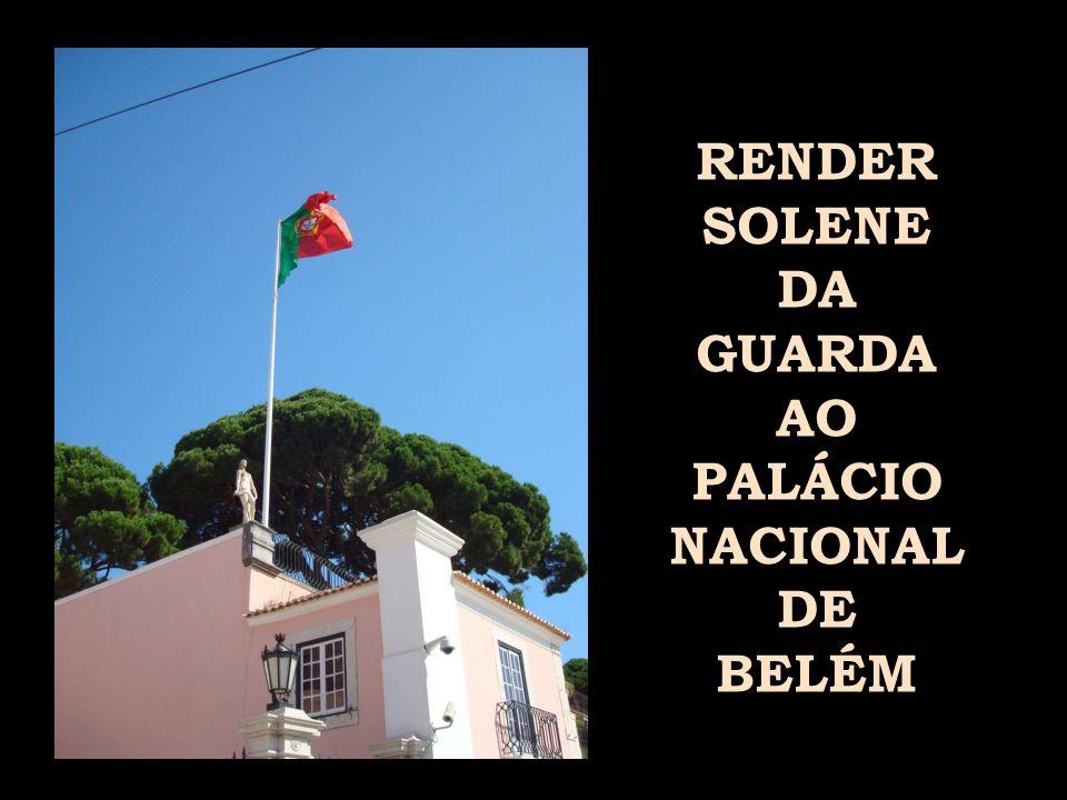 O RENDER DA GUARDA AO PALÁCIO