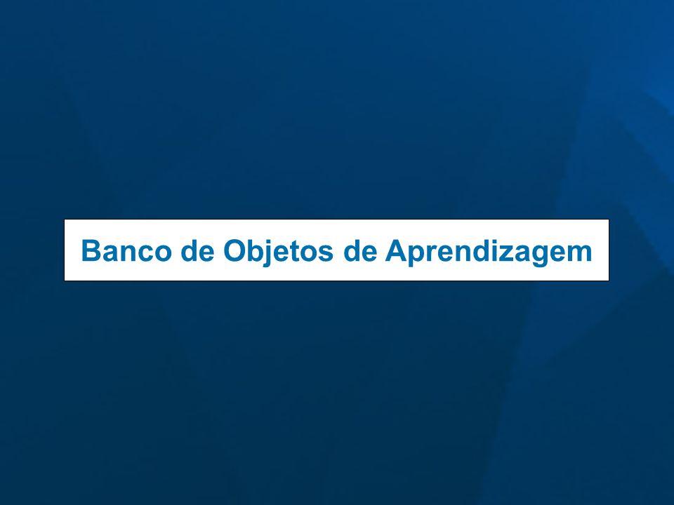 Banco de Objetos de Aprendizagem