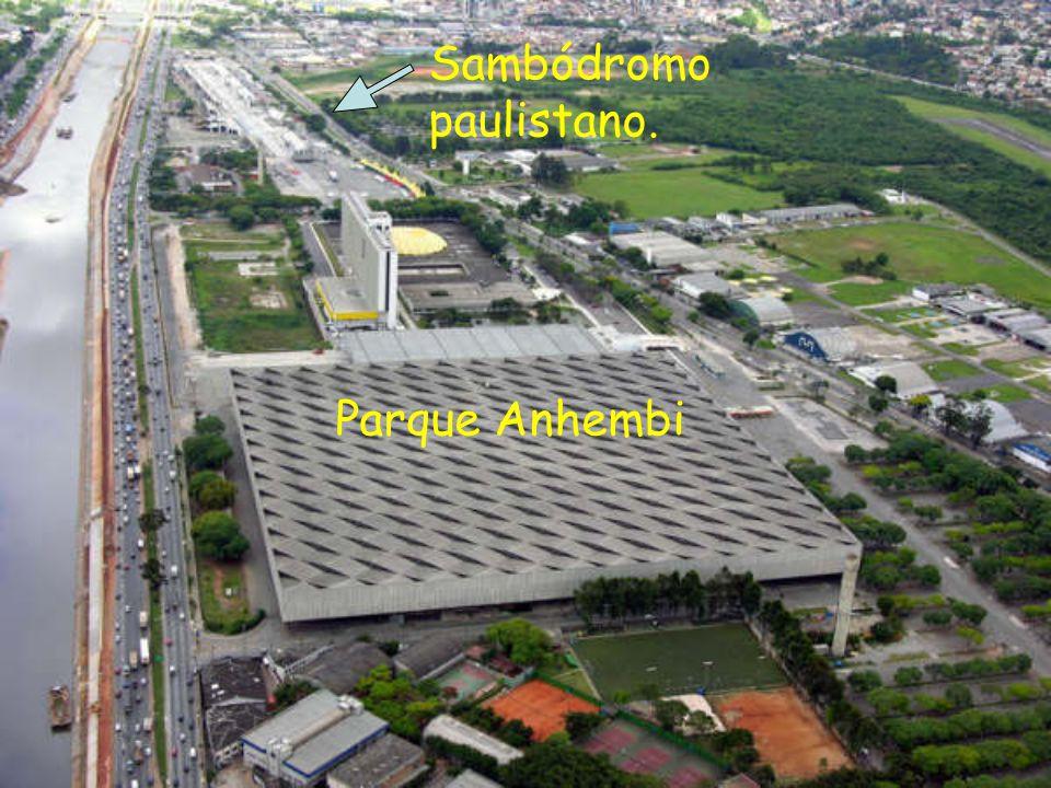 Parque Anhembi Sambódromo paulistano.