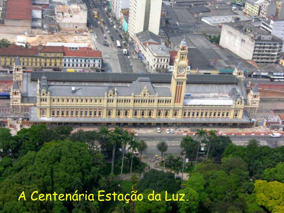 A Centenária Estação da Luz.