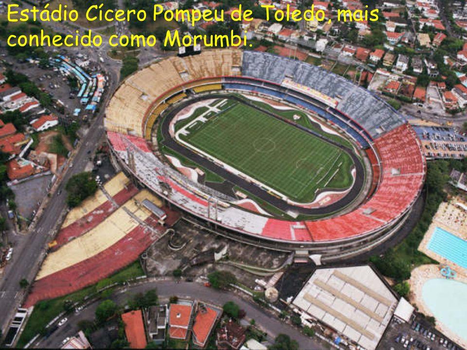 Estádio Cícero Pompeu de Toledo, mais conhecido como Morumbi.