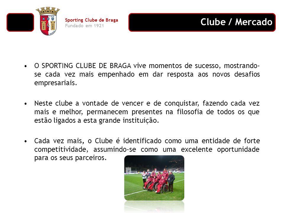 O SPORTING CLUBE DE BRAGA vive momentos de sucesso, mostrando- se cada vez mais empenhado em dar resposta aos novos desafios empresariais. Neste clube