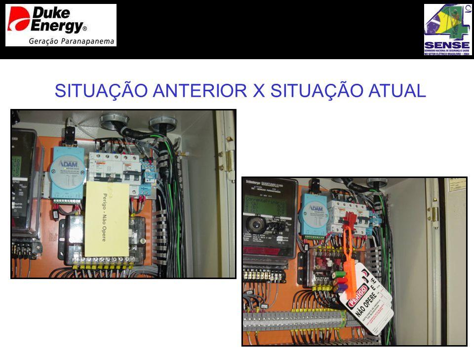 SITUAÇÃO ANTERIOR X SITUAÇÃO ATUAL