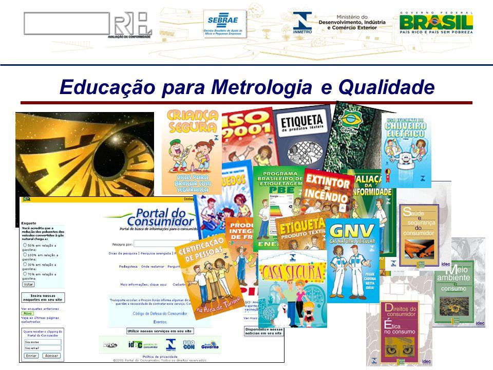 Educação para Metrologia e Qualidade