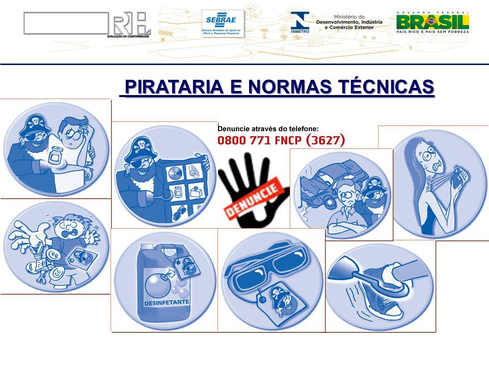 PIRATARIA E NORMAS TÉCNICAS Ilustrações retiradas da cartilha da Fundação Procon SP, disponíveis no site: http://www.procon.sp.gov.br/pdf/Orienta%20Pi