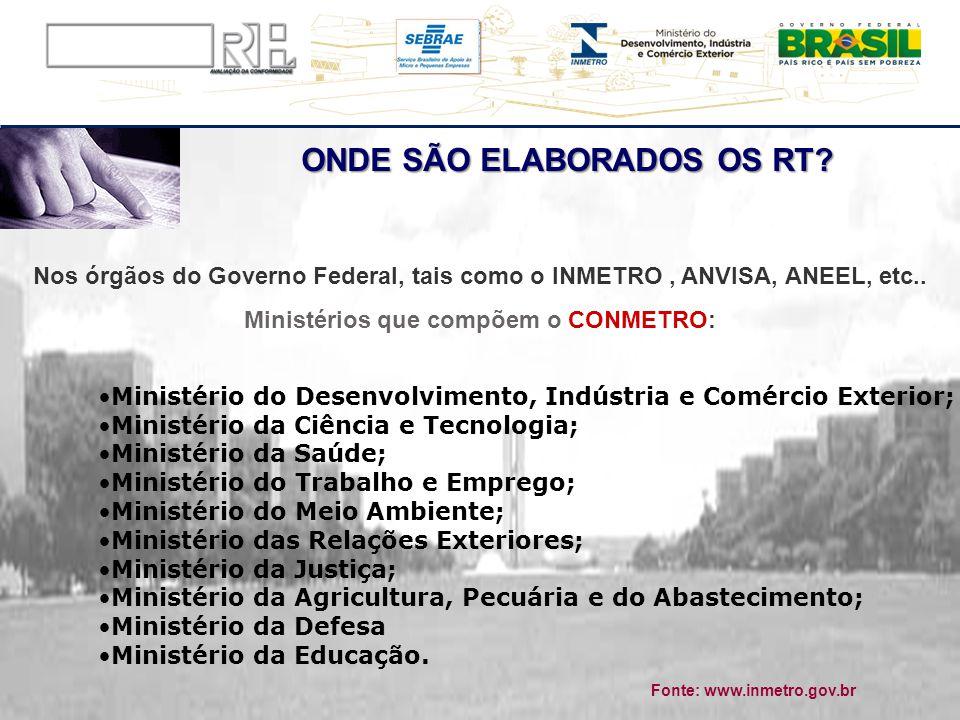 Ministério do Desenvolvimento, Indústria e Comércio Exterior; Ministério da Ciência e Tecnologia; Ministério da Saúde; Ministério do Trabalho e Empreg