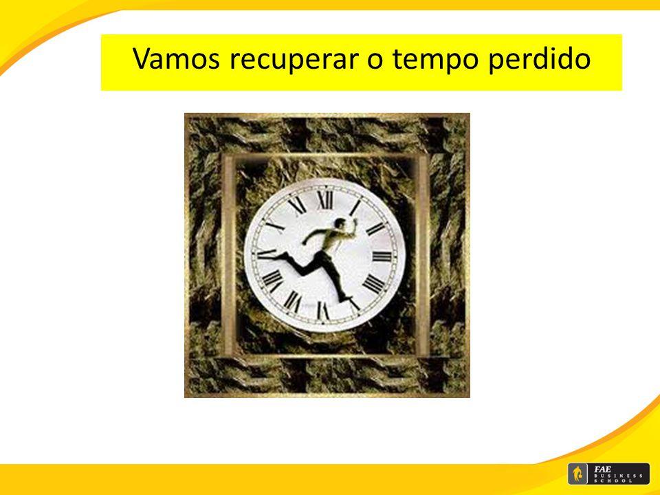 O tempo cura tudo..