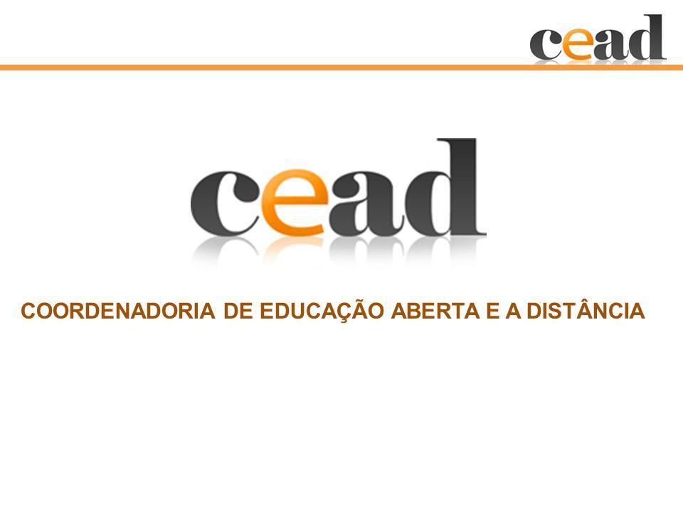 COORDENADORIA DE EDUCAÇÃO ABERTA E A DISTÂNCIA