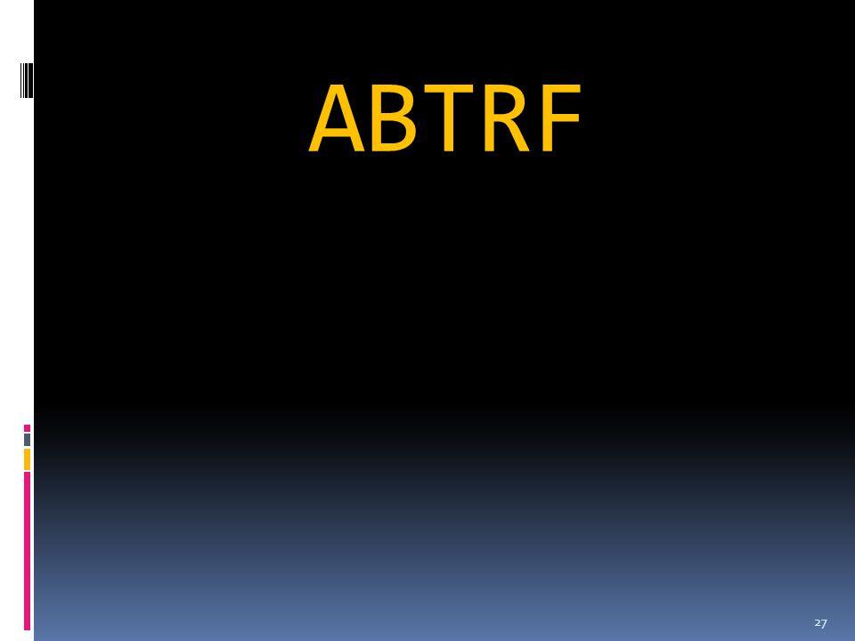ABTRF 27