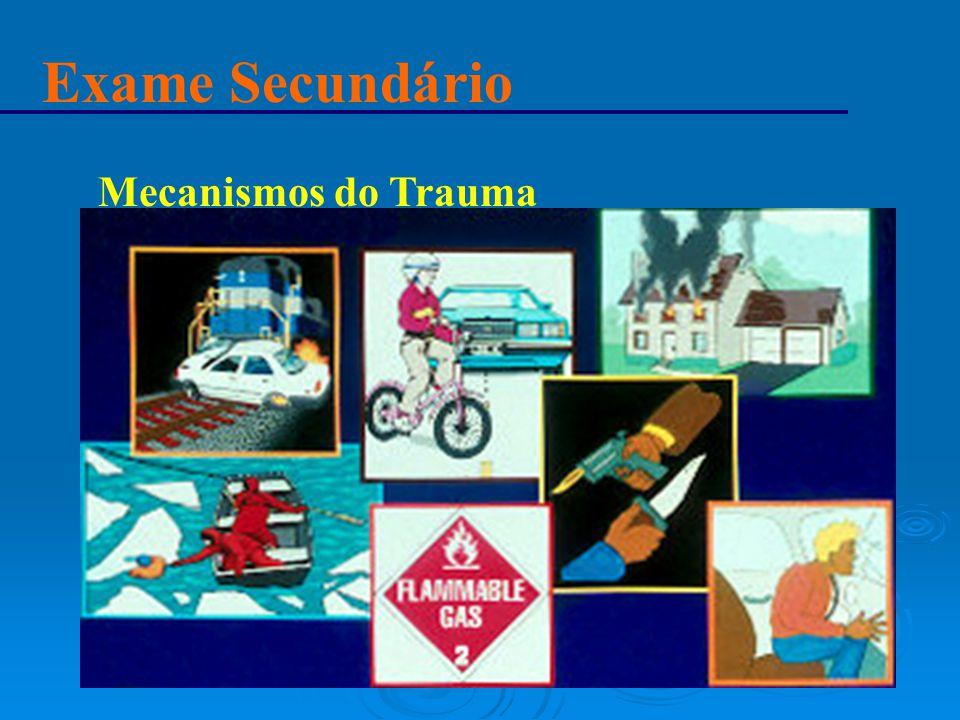 Exame Secundário Mecanismos do Trauma