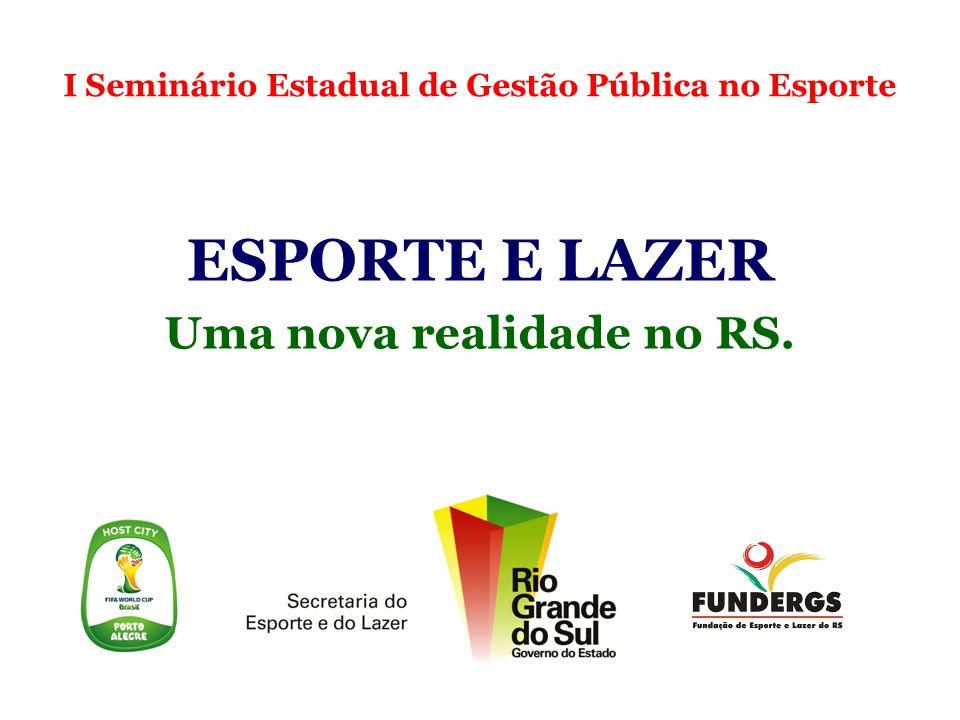 Ministério do Esporte É responsável por construir uma Política Nacional de Esporte.