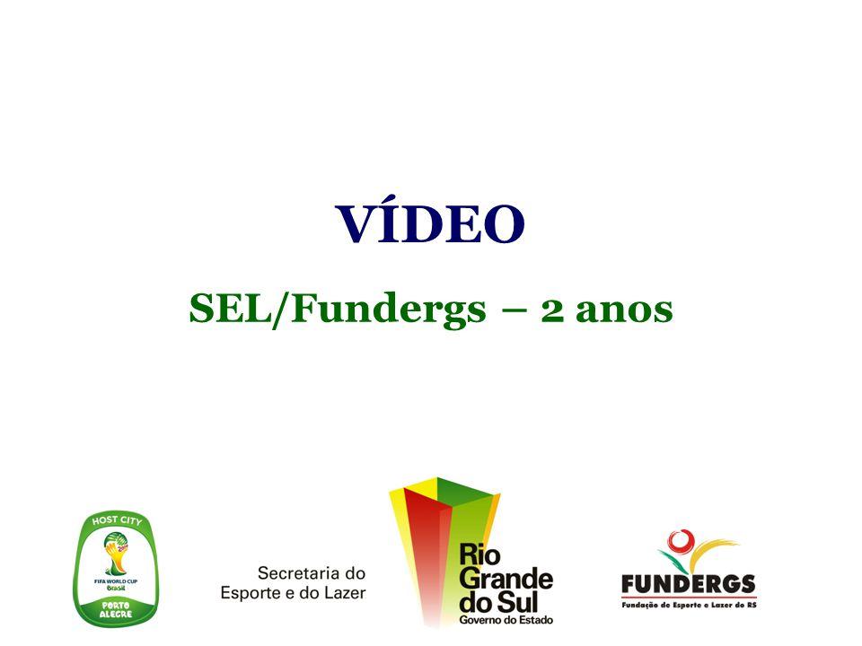 VÍDEO SEL/Fundergs – 2 anos Secretaria do Esporte e do Lazer