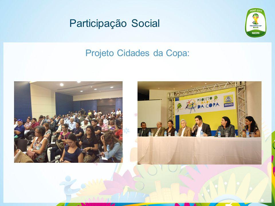 Participação Social Audiências Públicas e Convites da Sociedade Civil -7ª edição do ciclo de debates Pelejas Urbanas, em 29 de outubro de 2013.