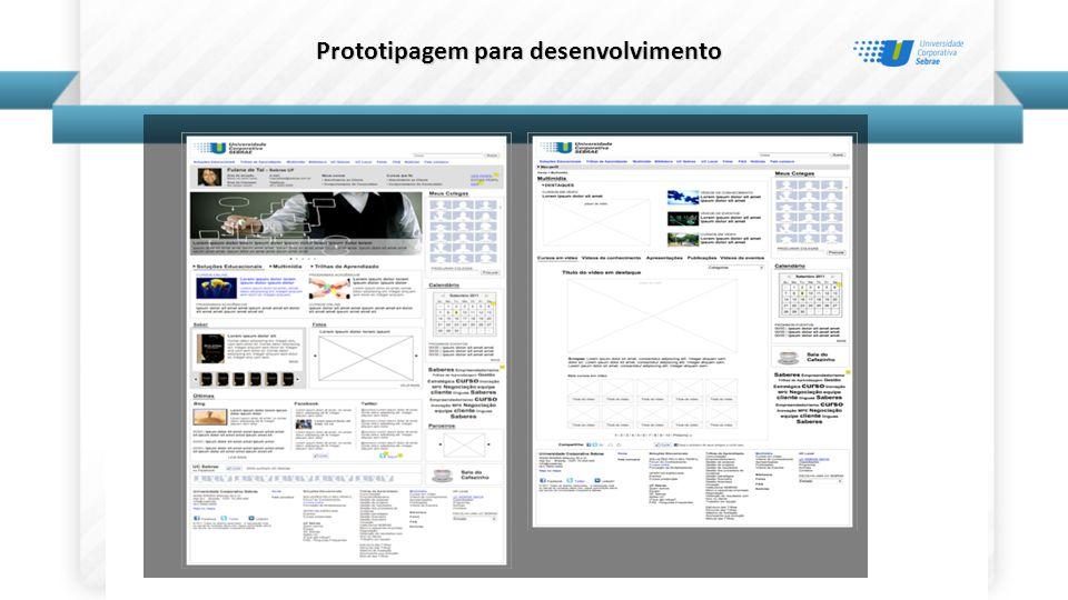 Prototipagem para desenvolvimento