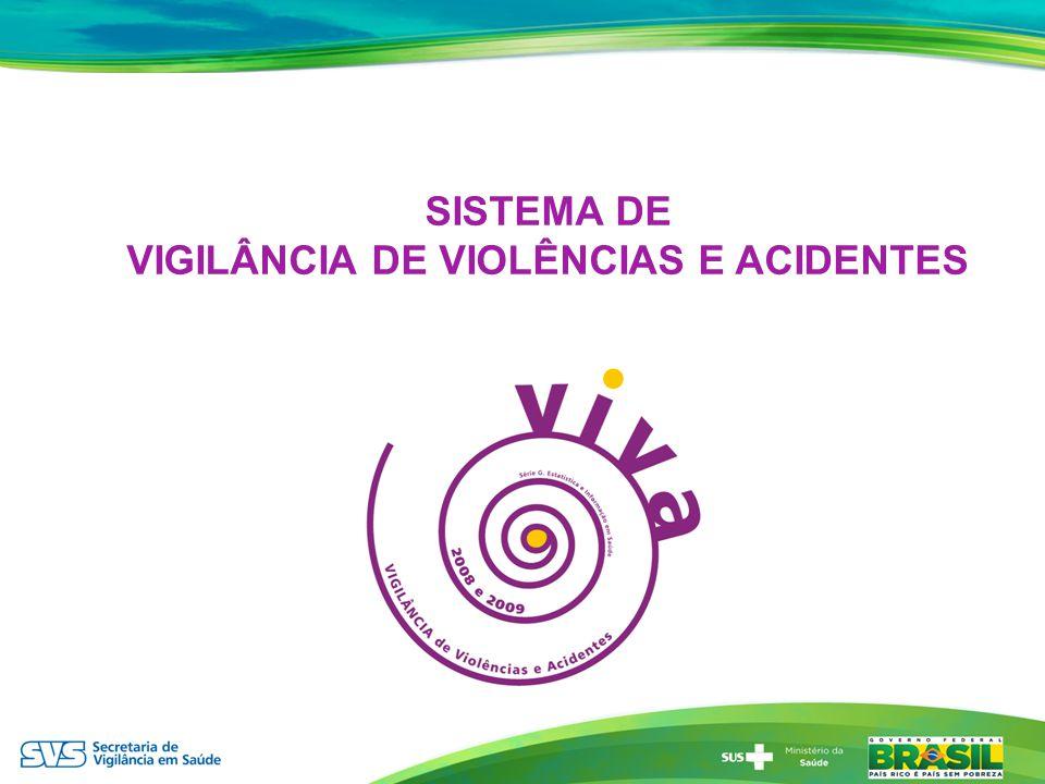 SISTEMA DE VIGILÂNCIA DE VIOLÊNCIAS E ACIDENTES