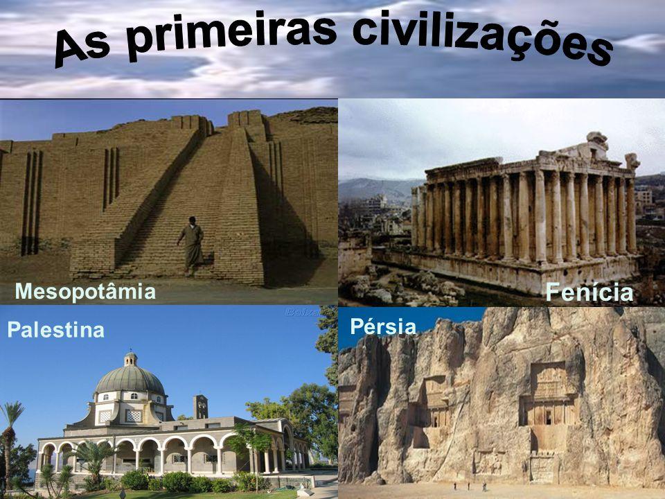 Mesopotâmia Fenícia Palestina Pérsia