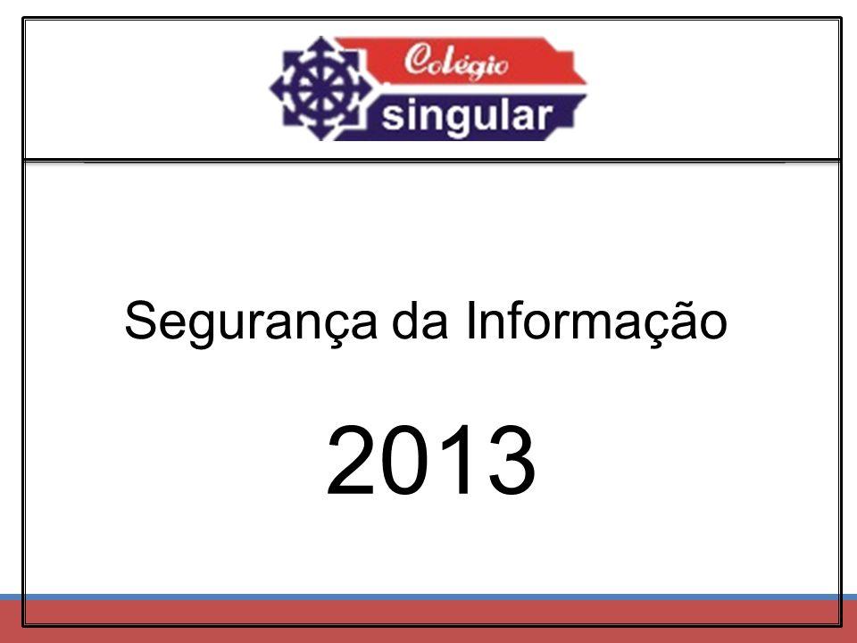 Segurança da Informação 2013