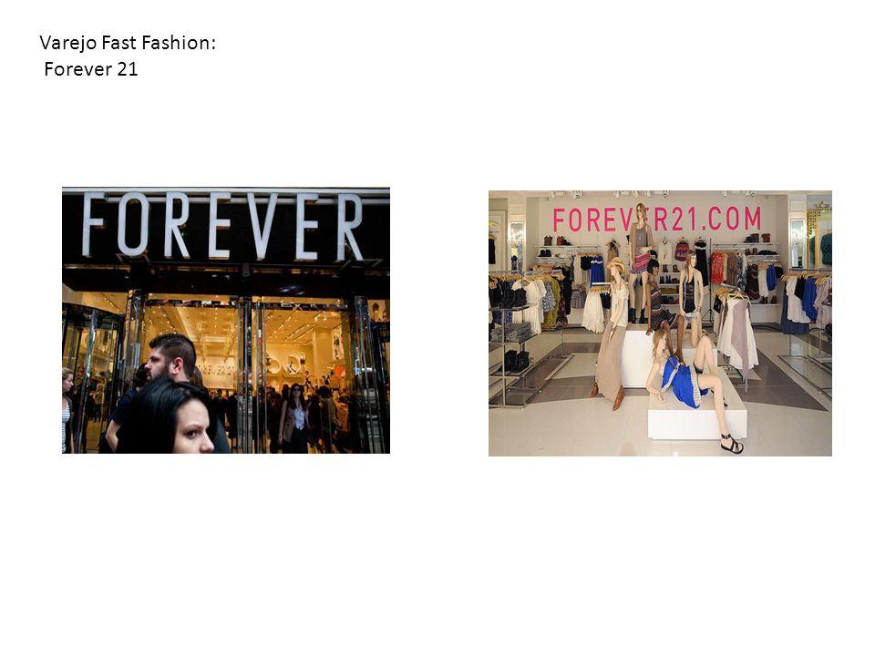 Varejo Fast Fashion: Forever 21