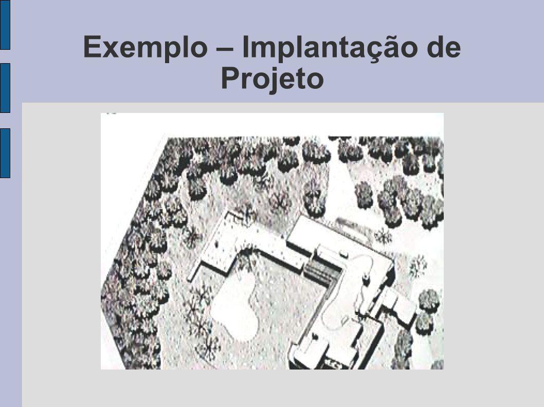 Exemplo – Implantação de Projeto