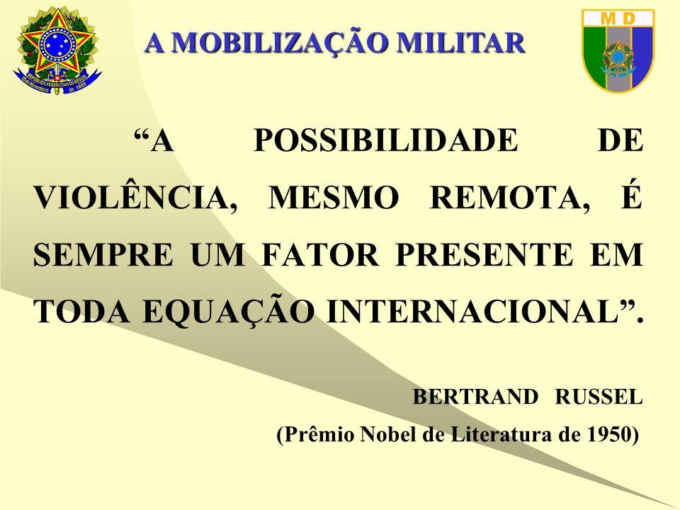 A MOBILIZAÇÃO MILITAR SISTEMA DE MOBILIZAÇÃO MILITAR