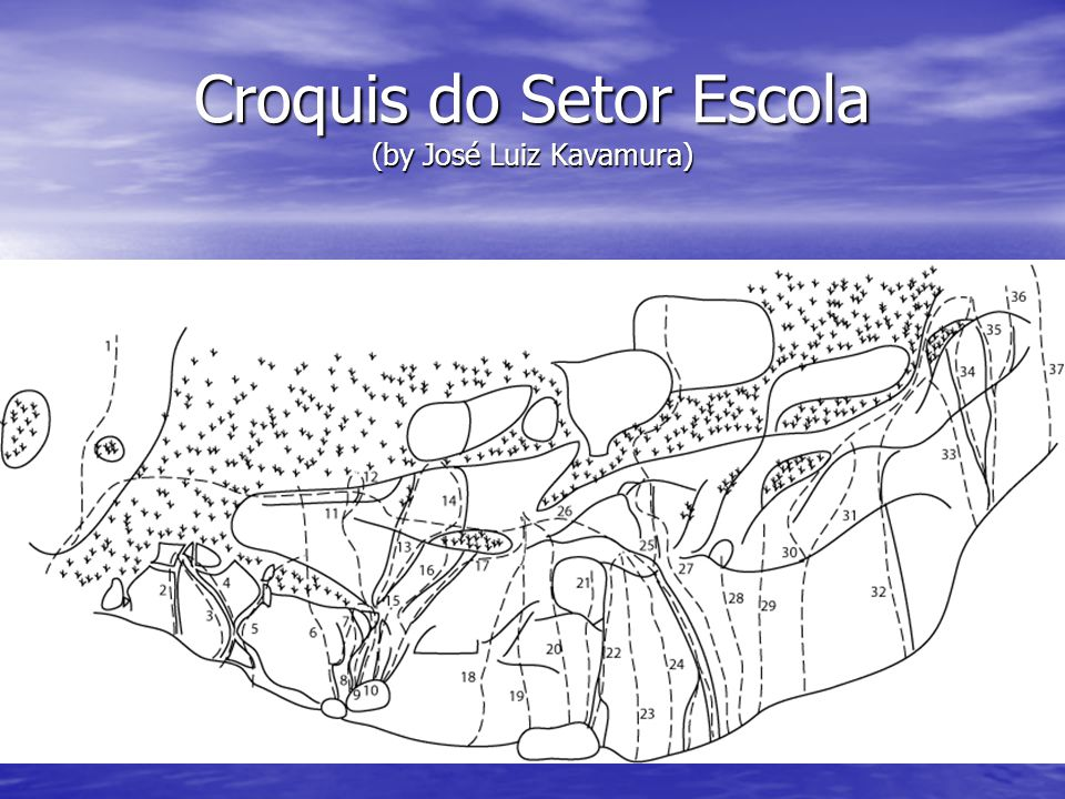 Croquis do Setor Escola (by José Luiz Kavamura)