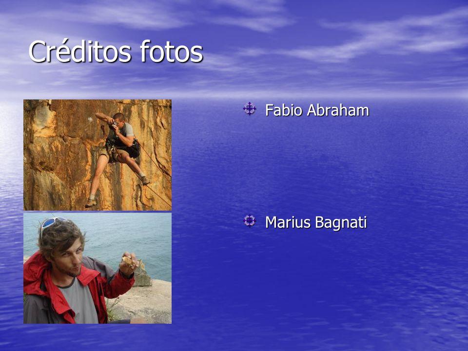 Créditos fotos Fabio Abraham Fabio Abraham Marius Bagnati Marius Bagnati