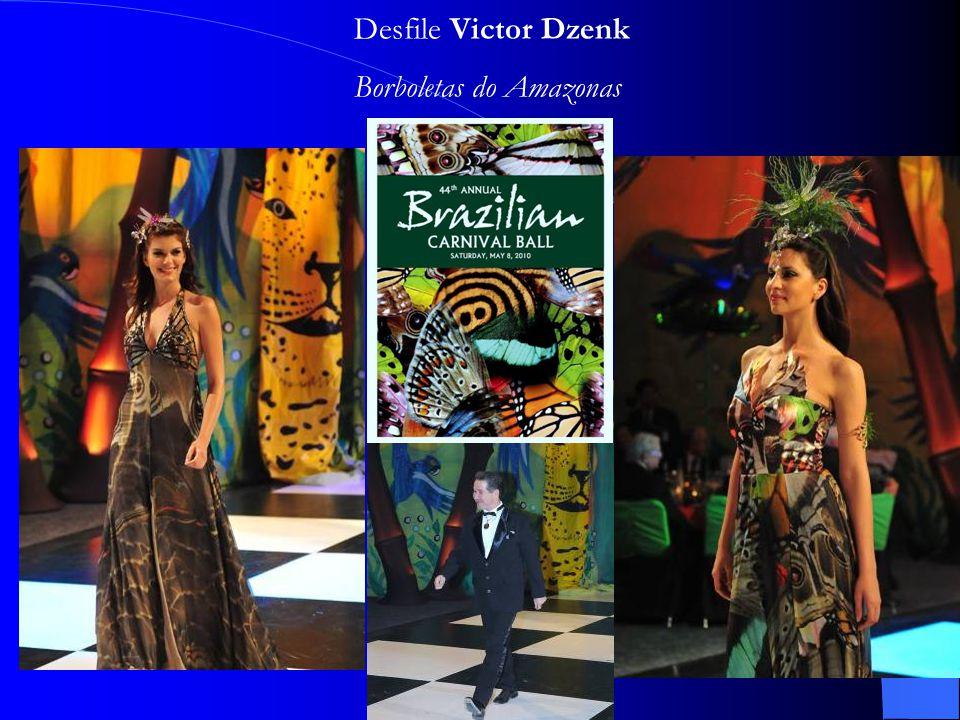 Desfile Victor Dzenk Borboletas do Amazonas