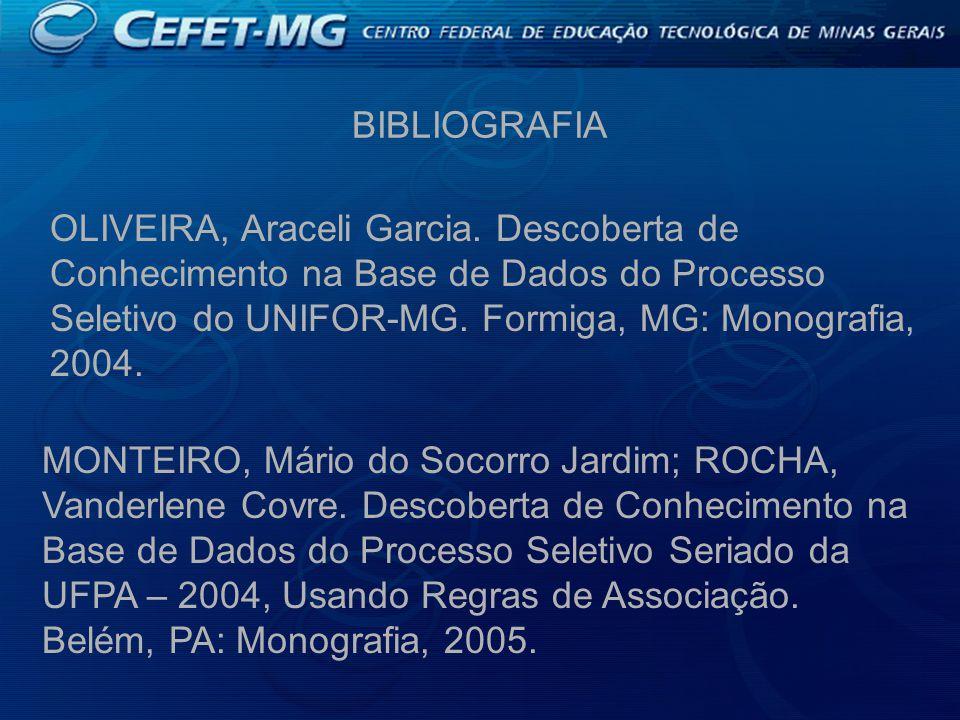 BIBLIOGRAFIA OLIVEIRA, Araceli Garcia.