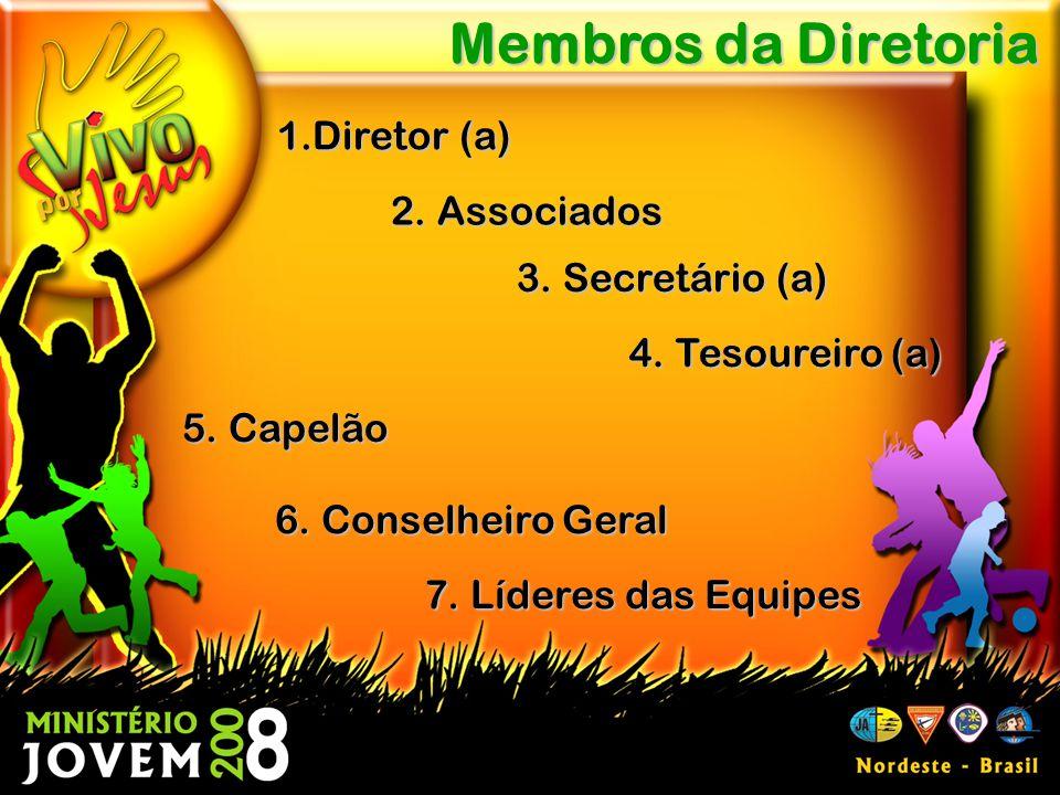 1.Diretor (a) Membros da Diretoria 2.Associados 3.
