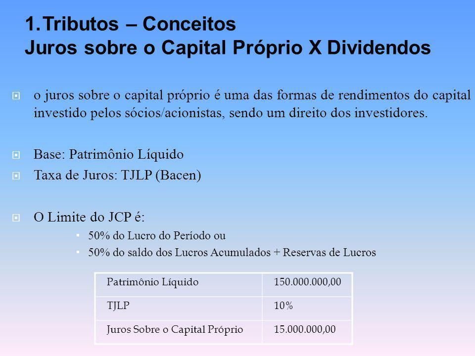  o juros sobre o capital próprio é uma das formas de rendimentos do capital investido pelos sócios/acionistas, sendo um direito dos investidores.  B