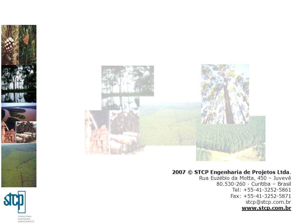 2007 © STCP Engenharia de Projetos Ltda. Rua Euzébio da Motta, 450 – Juvevê 80.530-260 · Curitiba – Brasil Tel: +55-41-3252-5861 Fax: +55-41-3252-5871