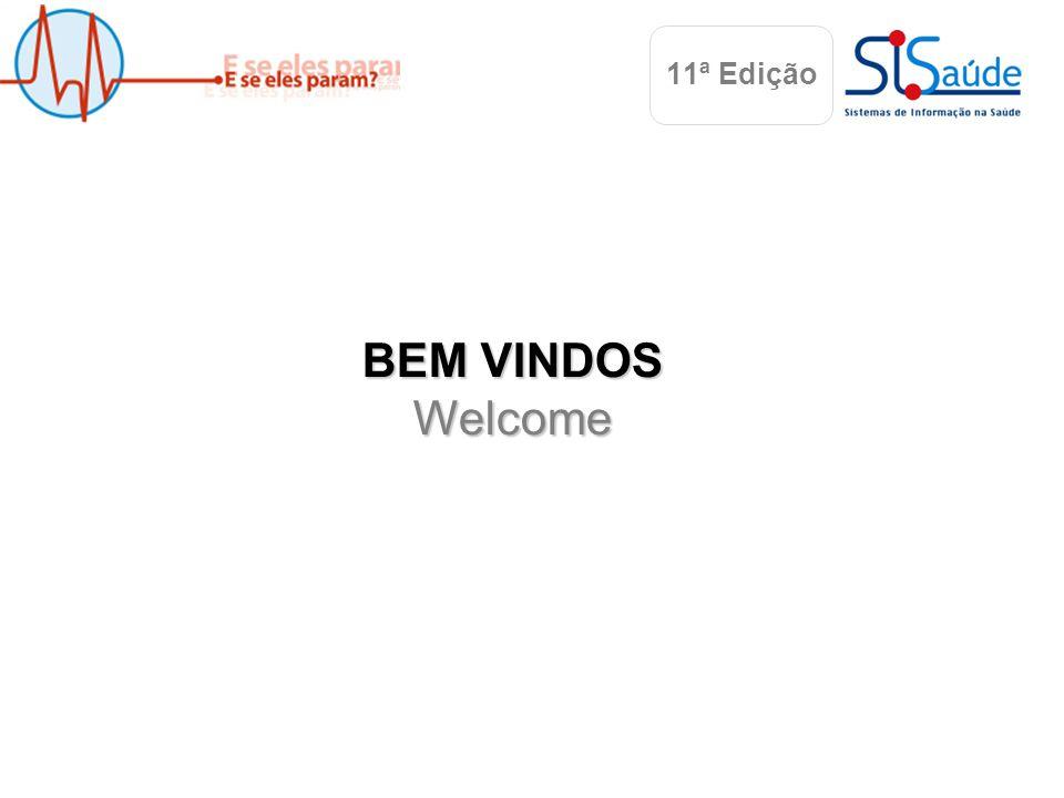 Albufeira, 22 Maio 2010 BEM VINDOS Welcome 11ª Edição