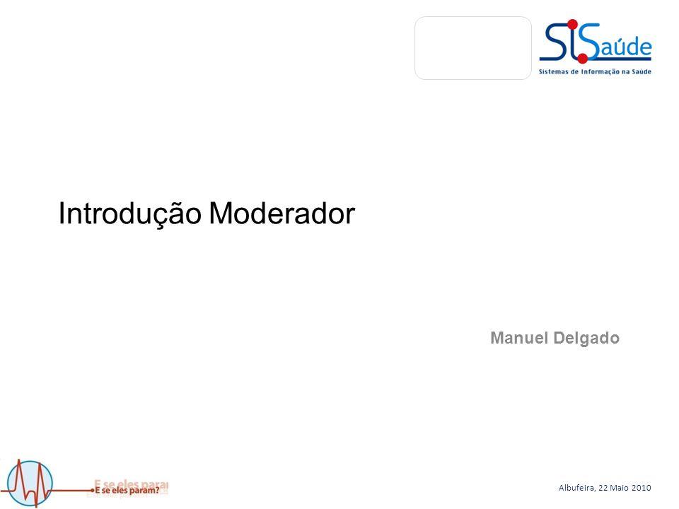 Albufeira, 22 Maio 2010 Sistemas de Comunicação Rede Estruturada Redundante João Gaspar joao.gaspar@hsjoao.min-saude.pt