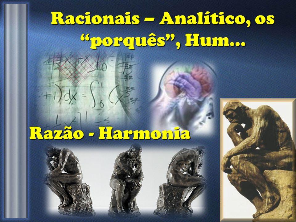 Racionais – Analítico, os porquês , Hum... Razão - Harmonia