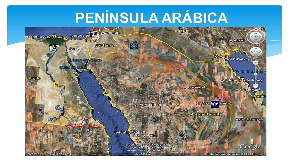 PENÍNSULA ARÁBICA