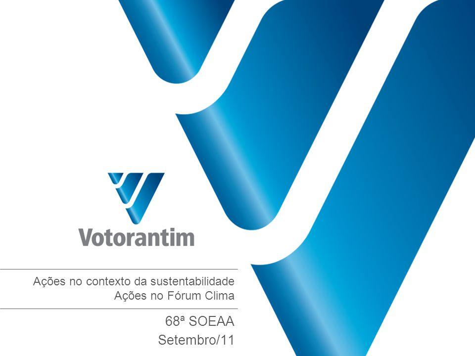 Votorantim Industrial Rua Amauri, 255 12°andar 01448-000 São Paulo SP Tel 55 11 3704 3312 Fax 55 11 3167 3515 www.votorantim.com.br www.votorantim.com.br/sustentabilidade sustentabilidade@vpar.com.br