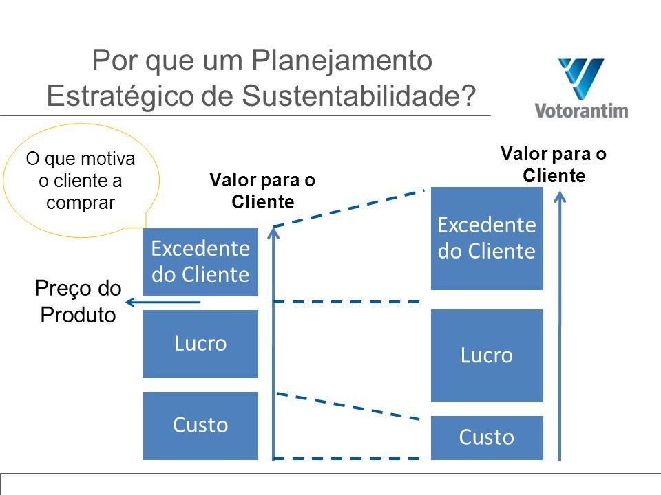 1.Ecoeficiência e uso responsável dos recursos 2.Emissões de Gases de Efeito Estufa 3.Biodiversidade 4.Gerenciamento na cadeira de fornecedores 5.Desenvolvimento de pessoas 6.Saúde e segurança ocupacional, incluindo terceiros 7.Desenvolvimento de comunidades 8.Utilização sustentável de nossos produtos 9.Governança para o crescimento e desenvolvimento sustentável TEMAS MATERIAIS - Nossos Desafios - www.votorantim.com.br/sustentabilidade