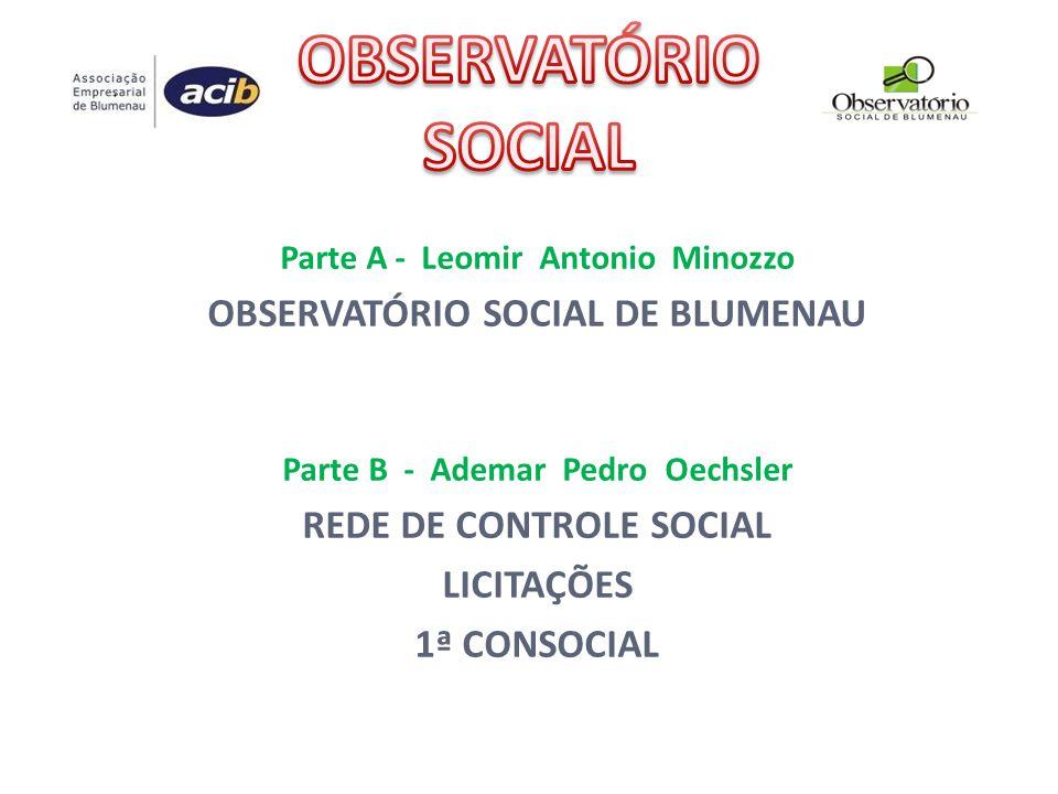 1ª CONSOCIAL - SC Decreto nº 348, de 1º de julho de 2011 Convoca a 1ª Conferência Estadual sobre Transparência e Controle Social (14,15 e 16-03-2012), em Florianópolis – SC.