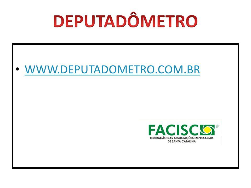 WWW.DEPUTADOMETRO.COM.BR