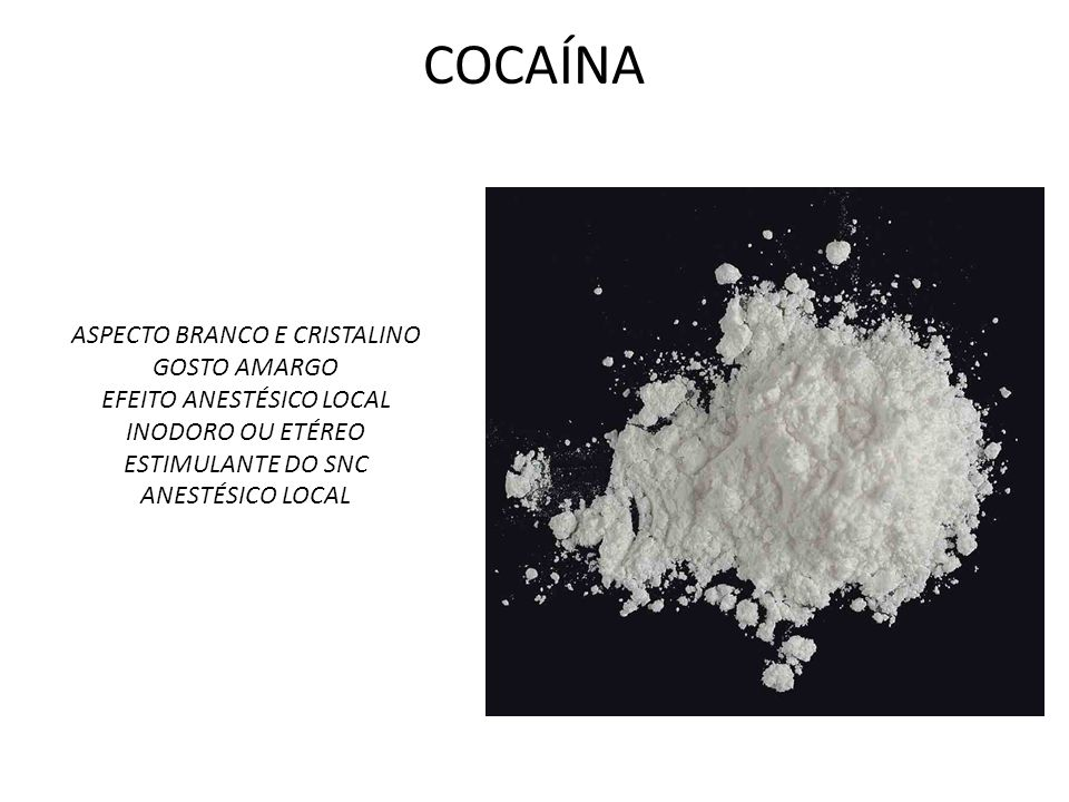 Vias de Administração Forma Injetável PORTO ALEGRE (RS) Na primeira metade da década de 1980, era grande o número de usuários de cocaína por via endovenosa.