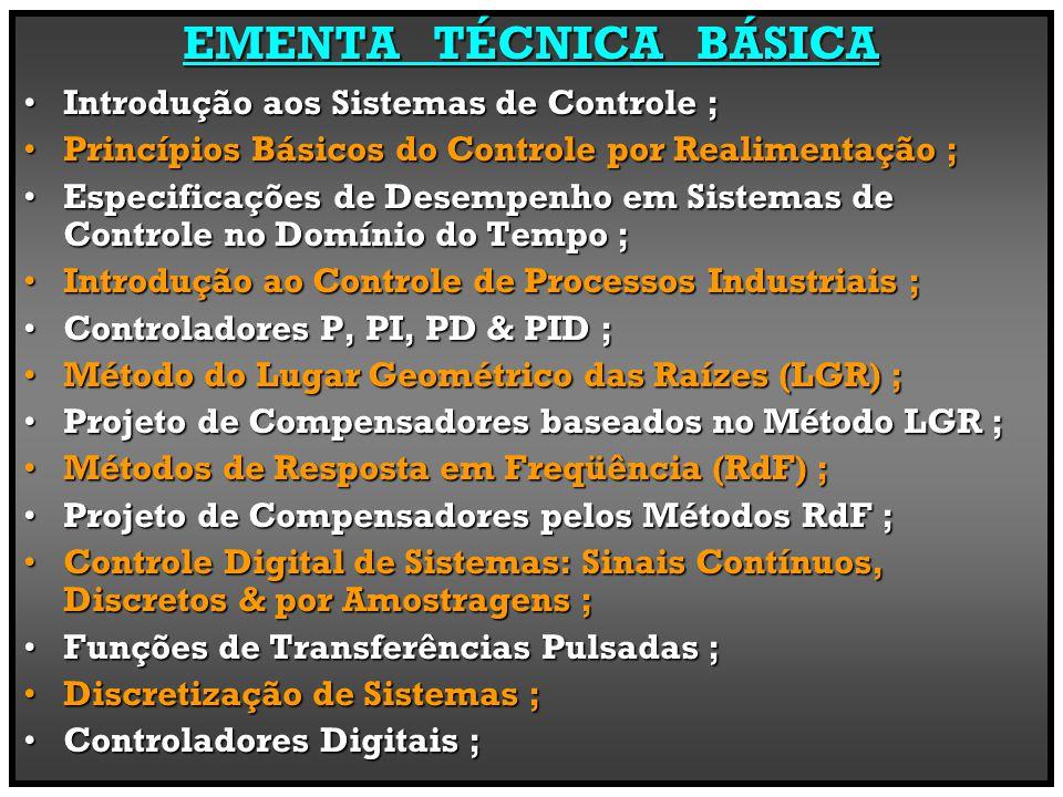 SistemasControleContexto De Estudo