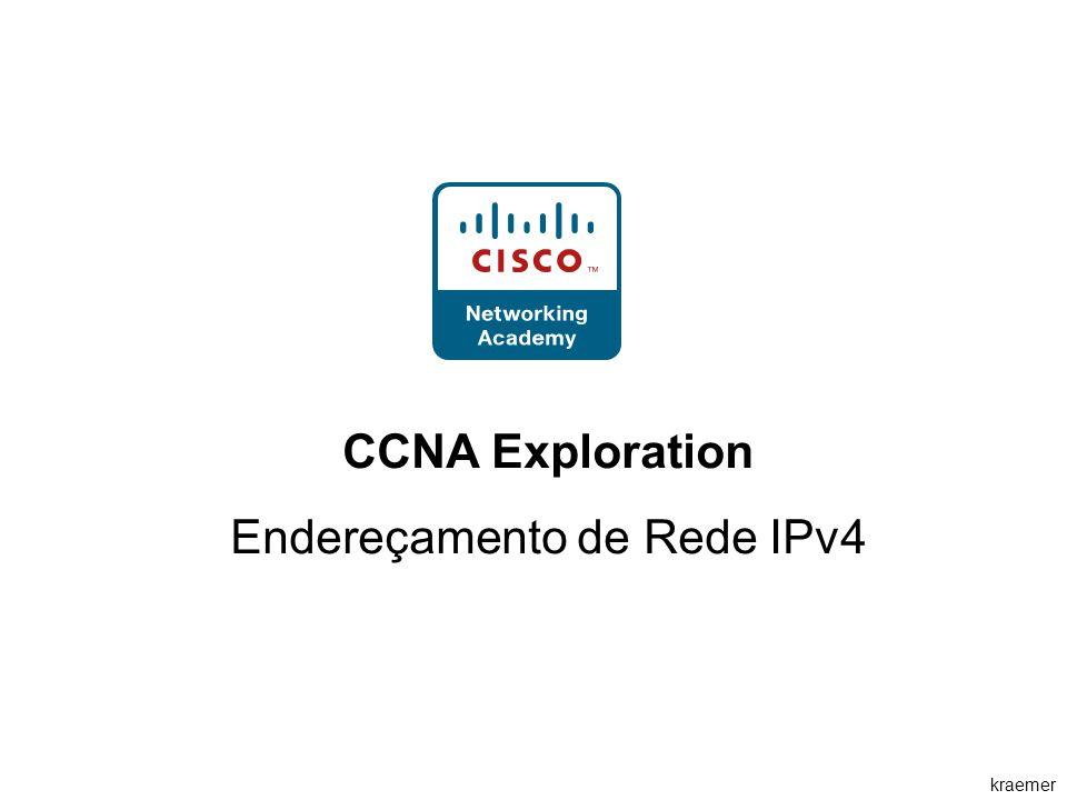 kraemer CCNA Exploration Endereçamento de Rede IPv4